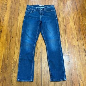 Levi's Classic Mid Rise Skinny Jeans Size 8